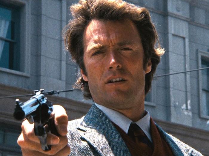 Clint Eastwood est L'Inspecteur Harry