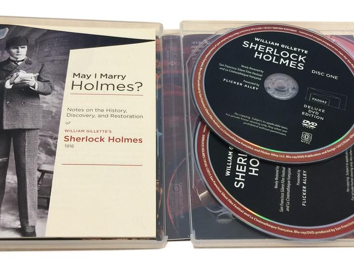 Coffret Dvd Sherlock Holmes (Flicker Alley)
