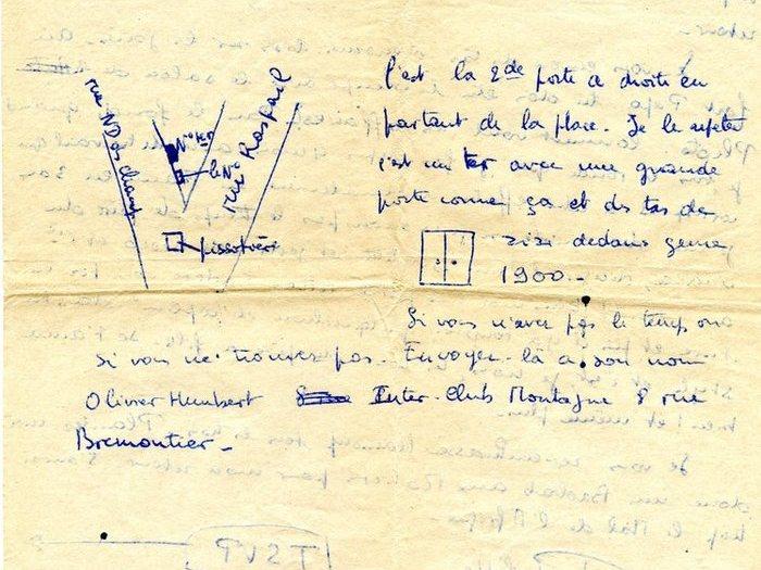 Courrier de Philippe de Broca à sa famille, page 4
