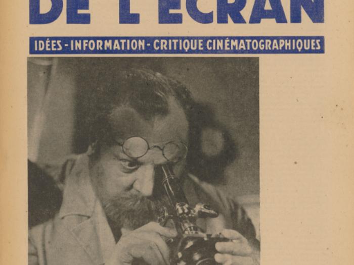 Emil Jannings en couverture de La Revue de l'écran n°409 B du 19 juin 1941