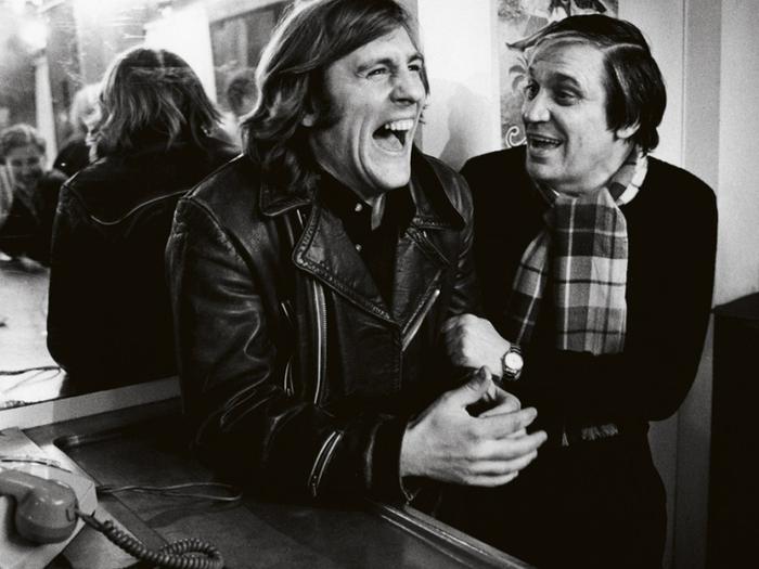 Depardieu et Pialat sur le tournage de Loulou