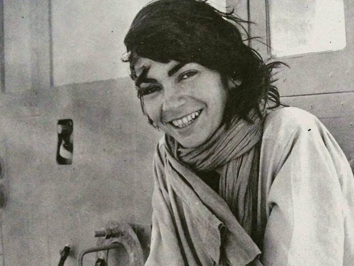 Jocelyne Saab, 1978. DR.
