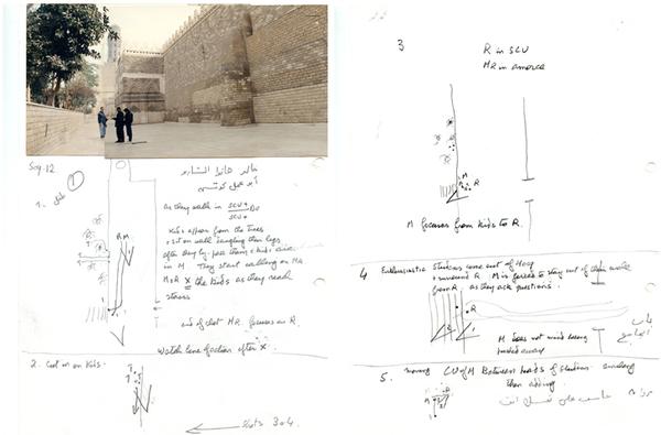 Documents préparatoires pour le découpage du Destin.