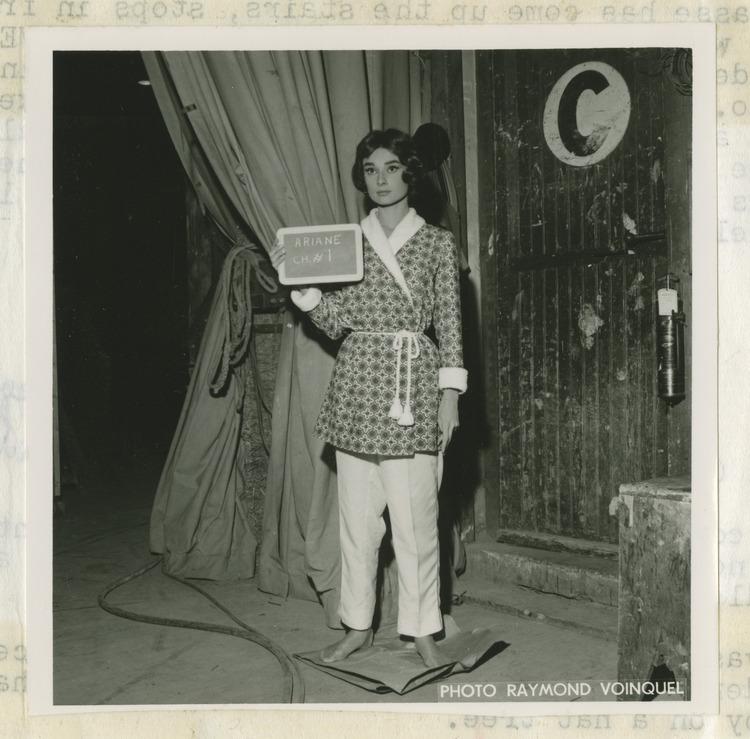 Essais lumière d'Audrey Hepburn 2