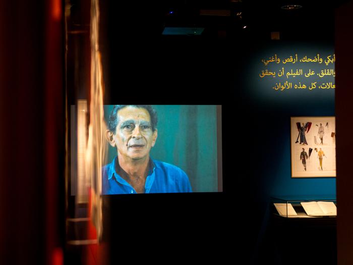 Exposition Youssef Chahine à la Cinémathèque française