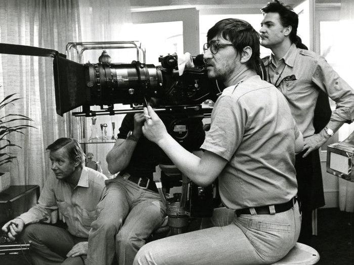 """Fassbinder sur le tournage de """"Despair"""" (1976)"""
