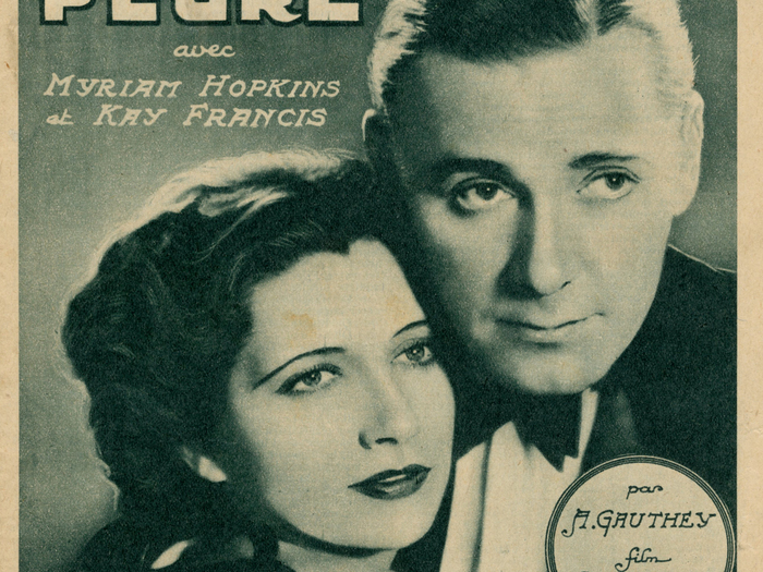Le Film complet du jeudi - 17 août 1933