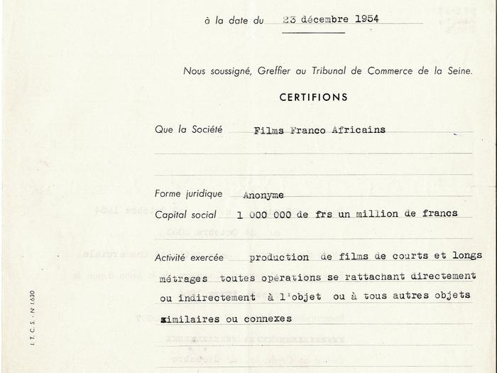 Goha (Jacques Baratier) : extrait du fonds d'archives