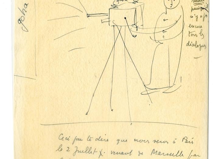 Goha (Jacques Baratier) : lettre de Schéhadé à Baratier
