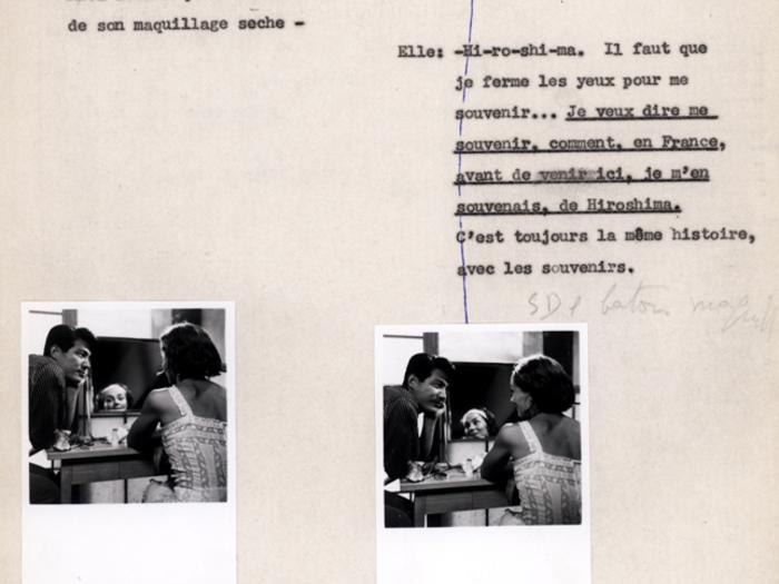 Hiroshima mon amour : carnet n° 2 page 105