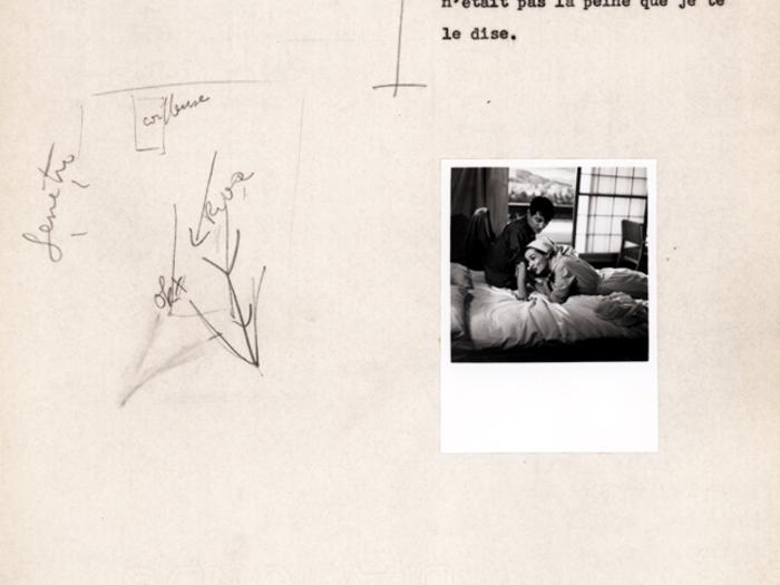 Hiroshima mon amour : carnet n° 2 page 111