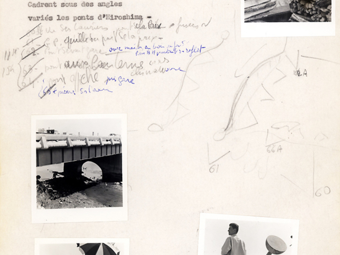 Hiroshima mon amour : carnet n°1 page 47