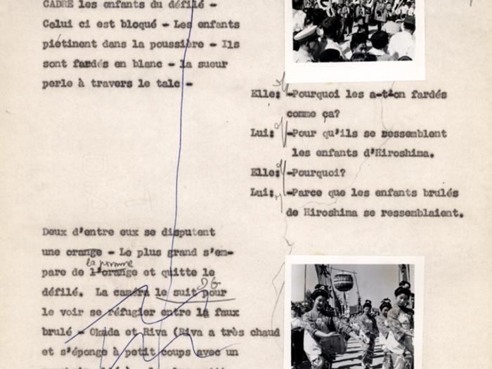 Hiroshima mon amour : carnet n°3 page 159