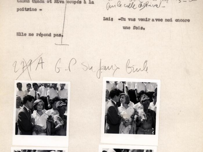 Hiroshima mon amour : carnet n°3 page 160