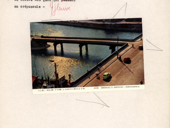 Hiroshima mon amour : carnet n°4 page 200