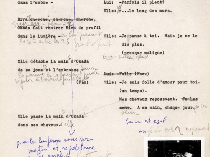 Hiroshima mon amour : carnet n°4 page 229