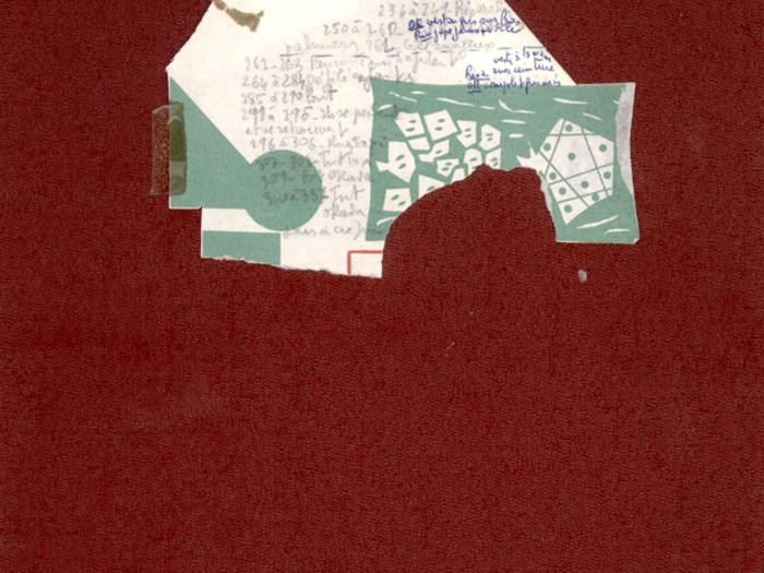 Hiroshima mon amour : couverture du scénario de tournage, deuxième carnet