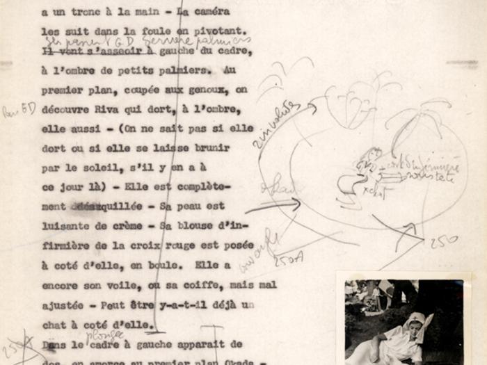 Hiroshima mon amour : deuxième carnet page 138