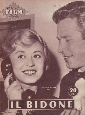 Il Bidone raconté dans Amor Film Hebdo (n°117, 16 mai 1956)