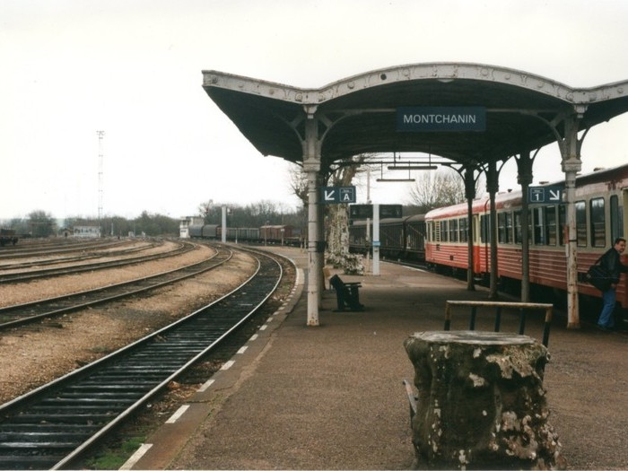 Photo de repérage : Montchanin - la gare © DR