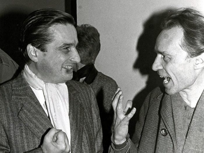 Jacques Rivette à la Cinémathèque en 1985
