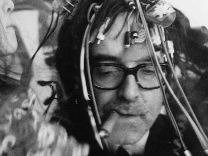 Jean-Luc Godard sur le tournage de King Lear (1987)