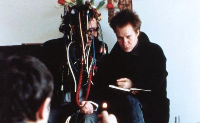 Jean Luc Godard et Peter Sellars dans King Lear