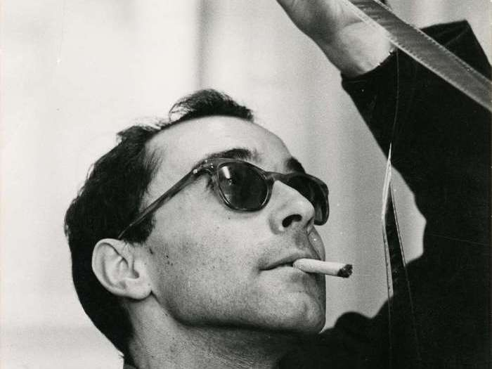 Jean-Luc Godard (Photo Philippe R. Doumic)