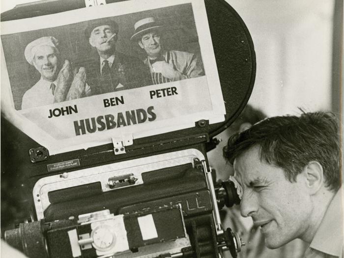 John Cassavetes tourne Husbands avec Ben Gazzara et Peter Falk