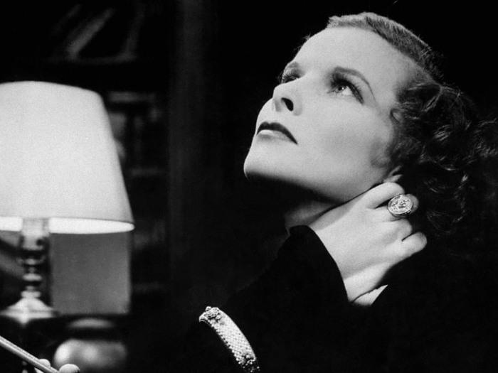 Katharine Hepburn dans Christopher Strong (Dorothy Arzner)