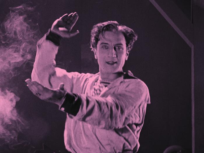"""Ivan Mosjoukine dans """"Kean ou désordre et génie"""" (Alexandre Volkoff, 1923)"""