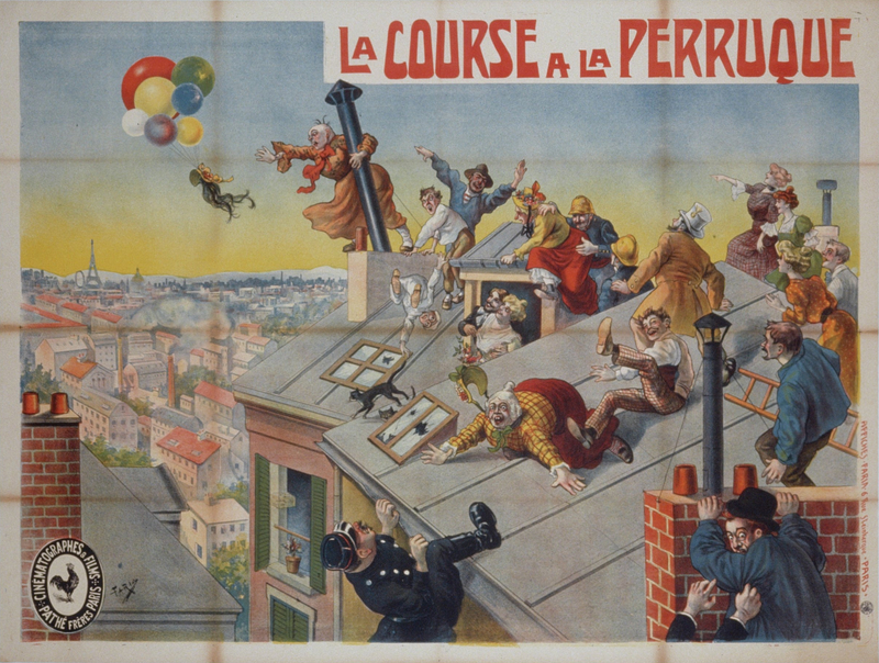 La Course à la perruque (Georges Halo, 1906) par Candido Aragonez de Faria (125x160).