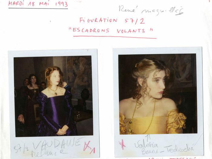 La Reine Margot : photographie de tournage (fonds Suzanne Durrenberger)