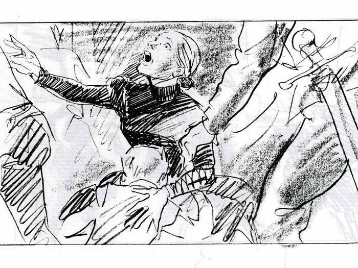 La Reine Margot : story-board de Maxime Rebière