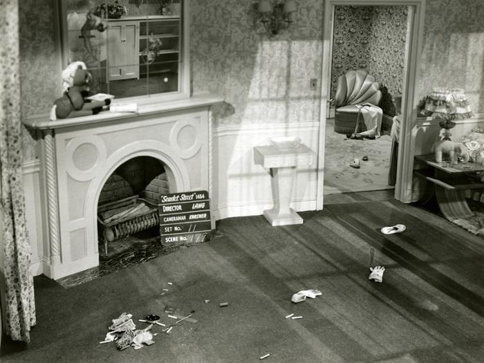 Photographie de décor : l'appartement de Kitty