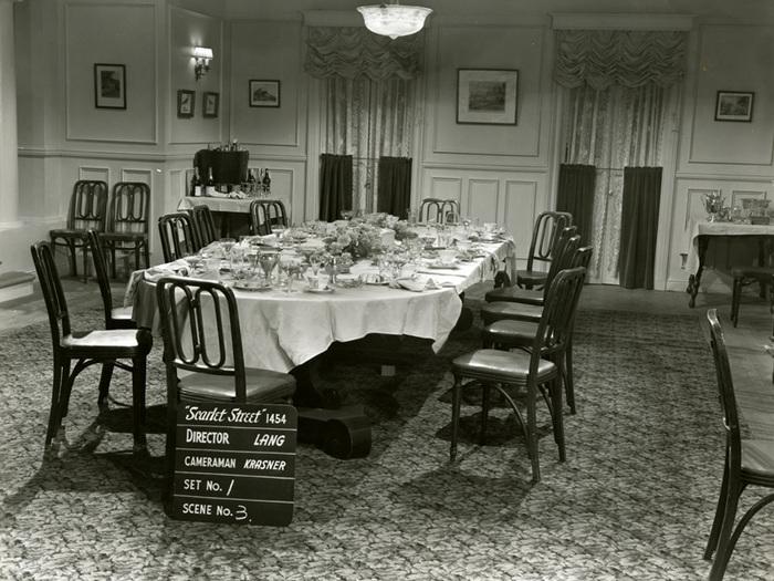 La Rue rouge (Fritz Lang) - Photo de décor