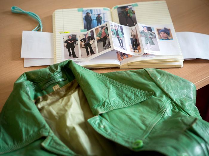 La veste verte de Didda Jonsdottir dans L'Effet aquatique (Solveig Anspach, 2016)