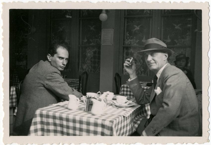 Lazare Meerson et Jacques Feyder / DR