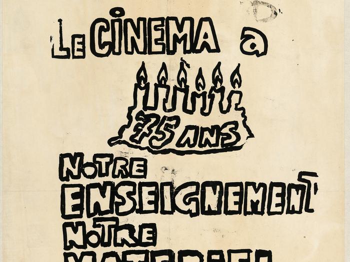 Affiche de manifestation, 1968 (A270-019)