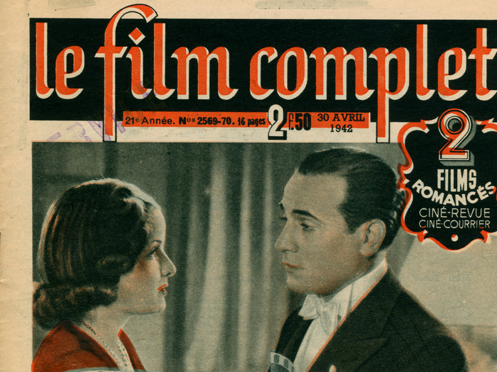 Le Film complet - 30 avril 1942