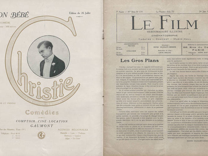 Le Film, n° 119, 24 juin 1918