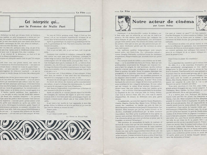 Le Film, n° 133/134, 14 octobre 1918