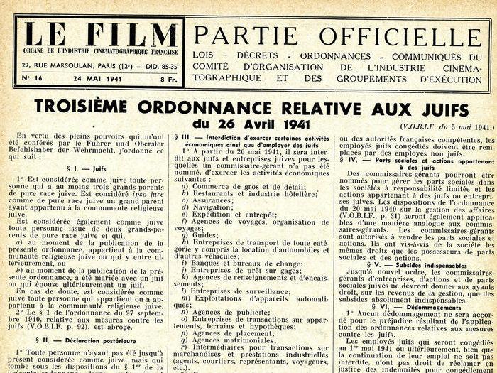 Le Film n°16 du 24 mai 1941