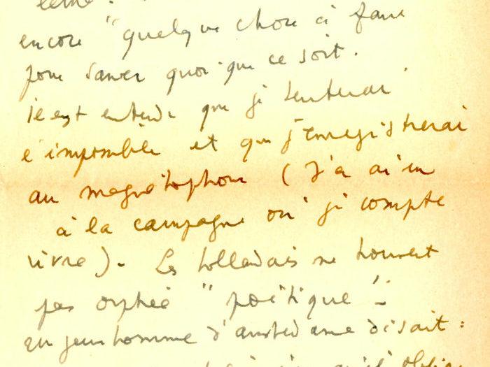 Lettre de Jean Cocteau à Chris Marker