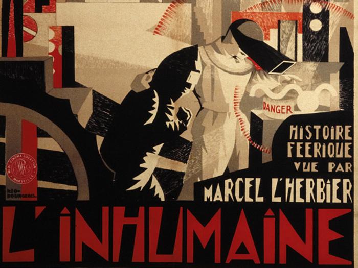 « L'Inhumaine » (Marcel L'Herbier, 1923) par Djo Bourgeois (160 x 120 cm).