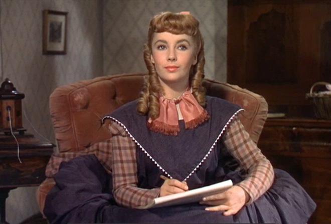 Liz Taylor dans Les quatre filles du Docteur March