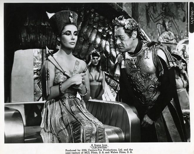 Liz Taylor et Rex Harrison (Photo de promotion/DR)