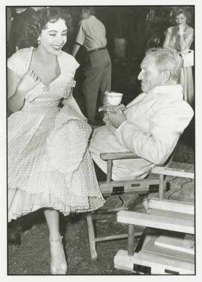 Liz Taylor et Spencer Tracy, Allons donc, papa ! (Photo de tournage, 1950, DR)