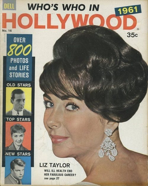 Liz Taylor (Who's Who in Hollywood n°16, 1961)