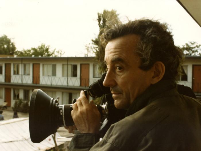 Louis Malle sur le tournage de And the Pursuit of Happiness, 1985